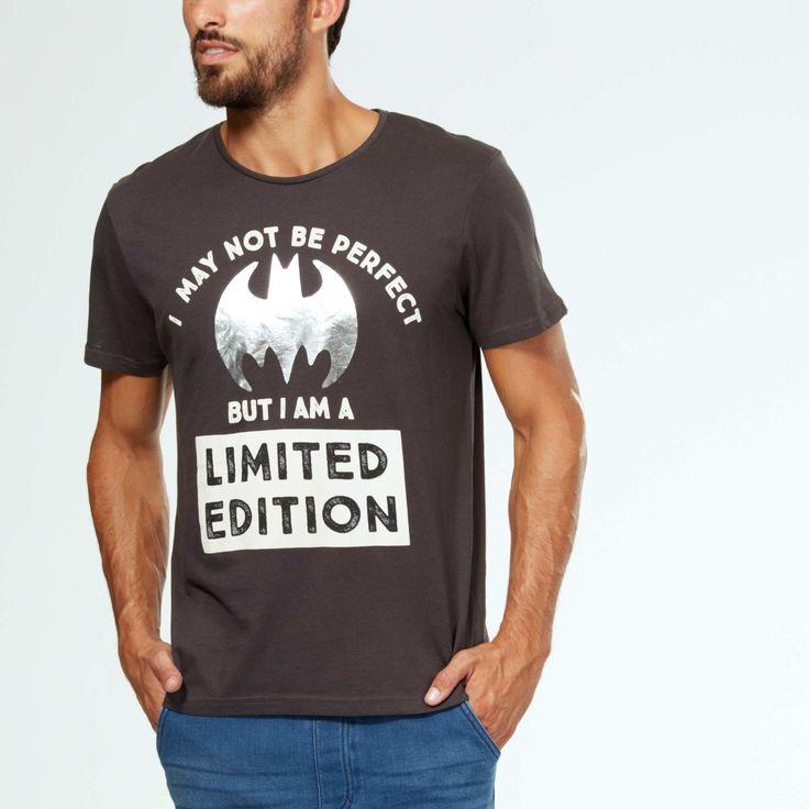 Tee-shirt 'Batman' Homme - Kiabi - 13,00€