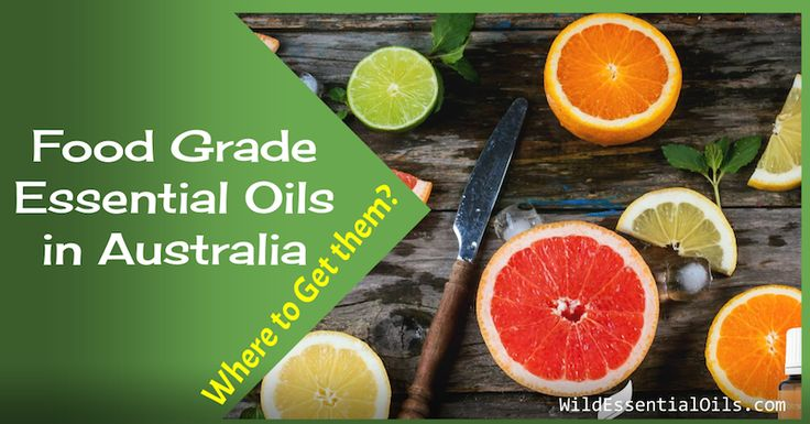Food Grade Essential Oils in Australia - Where to Buy? Looking for food grade essential oils for use in your cooking and drinks? Read this article to find all about them. http://www.wildessentialoils.com.au