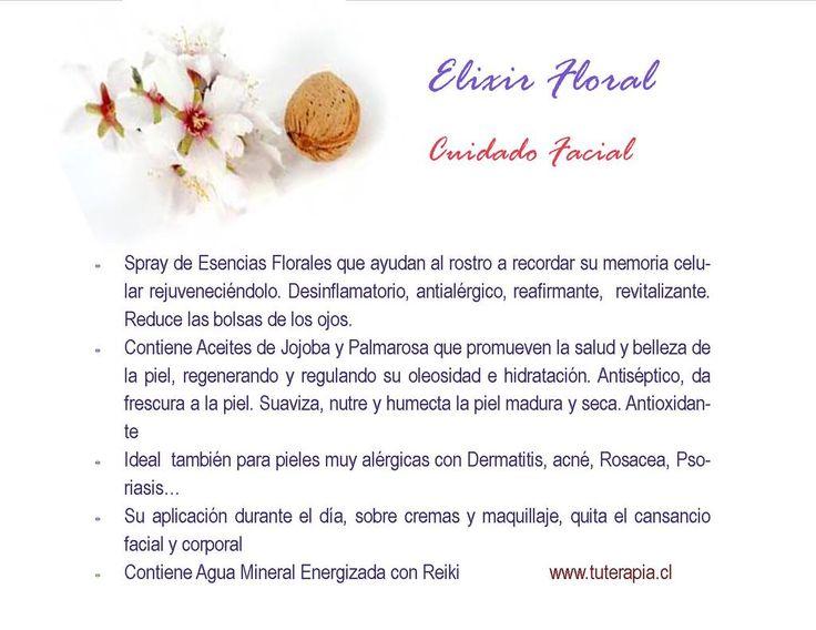 Elixir Floral, Cuidado Facial Natural!!...quieres uno? @biutcl @revista_paula @RadioPaulaFM @renataruizperez