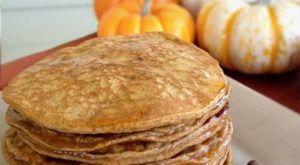 Almond Pumpkin Pancakes