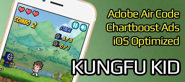 Kungfu Kid for iOS | App Code for Sale | Hero
