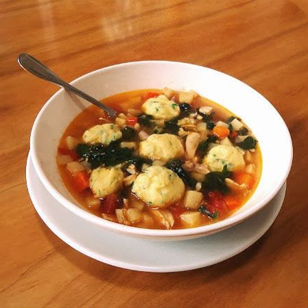 ... of the Day - Turkey Soup with Root Vegetables and Herbed Dumplings