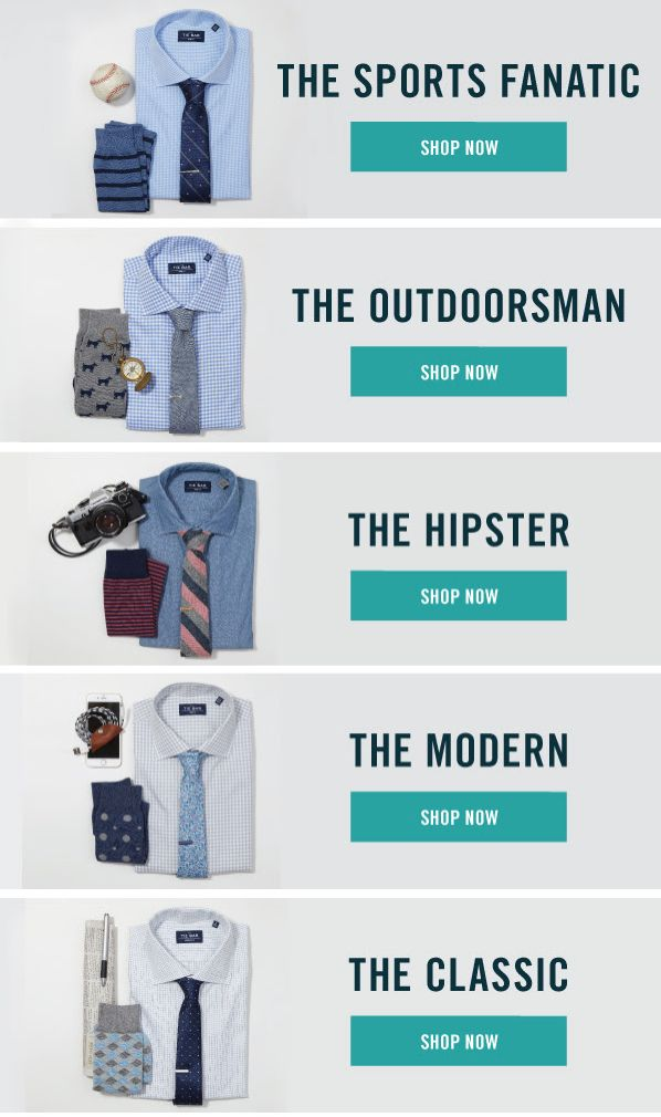 You know his style better than anyone. Shop for Father's Day gifts by personality at www.TheTieBar.com