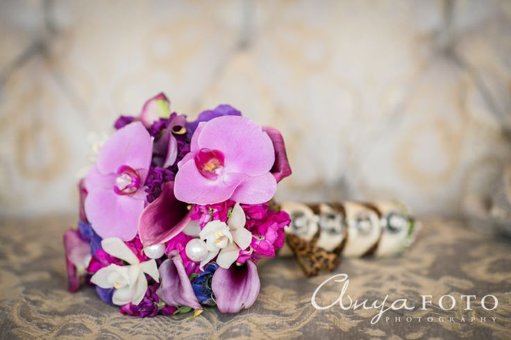 anyafoto.com, wedding bouquet, bridal bouquet, orchid bouquet, pink bouquet, purple bouquet, eclectic bouquet, spring bouquet