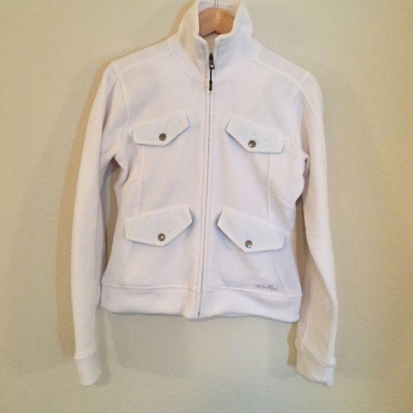 Oakley Fleece Jacket White comfortable fleece Oakley Jackets & Coats