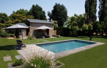 17 melhores ideias sobre piscine enterr e no pinterest piscine bois enterr - Modele piscine enterree ...