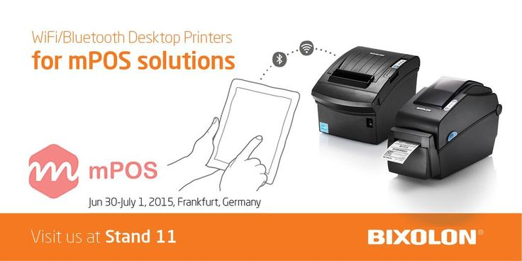 WiFi & Bluetooth desktop printers - perfect for all mobile POS solutions #discussingmPOS @mposworld #iOS #Android