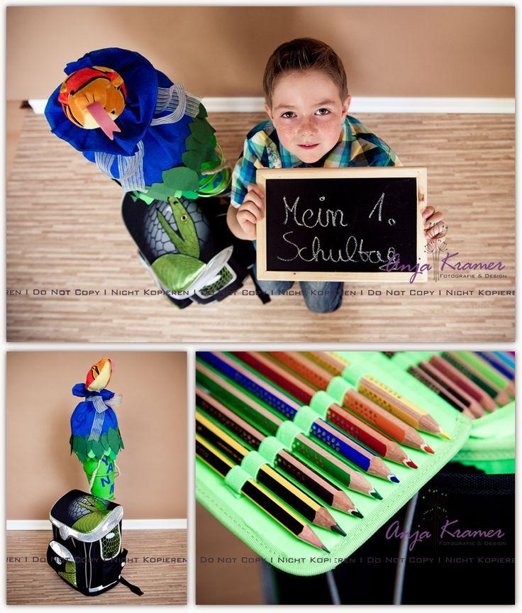 Tolle Idee für Einschulungsfotos :) » Anja Kramer Fotografie #Foto #inspiration #Kinder
