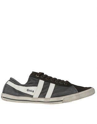 Gola Quota Mens Hi-Top Trainer Anthracite/Ecru