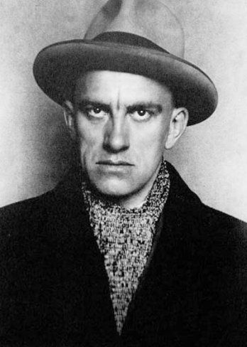 1924 Vladimir Mayakovsky by Aleksandr Mikhailovich Rodchenko (Russian 1891~1956) | ЛЕФ Movement