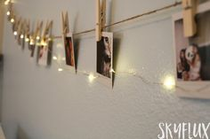 Hanging Polaroids - How to Display Polaroid Pictures