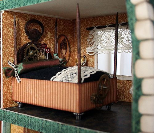 Steampunk bedroom decor ideas, DIY, interior design, steam punk, victorian, sleep, dark, goth, asian, kid rooms, furniture, steamer trunk, nautical, teen, awesome, romantic, modern, industrial chic, bed, paint, colors, wall, unique for new atmosphere of your bedroom. #darkmodernmansion