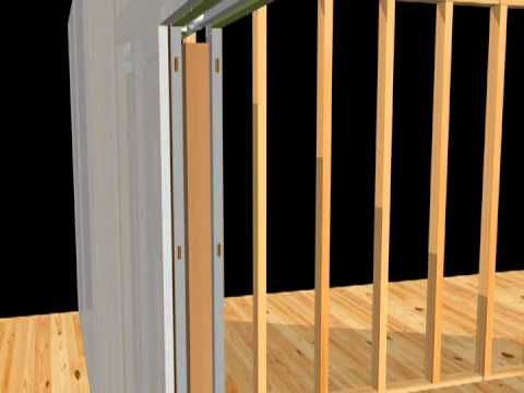 1000 images about woodworking videos on pinterest for 1500 series pocket door frame