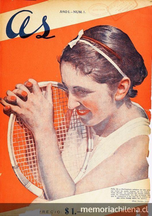 As: semanario deportivo : año 1, no. 1-10, mayo a julio de 1935