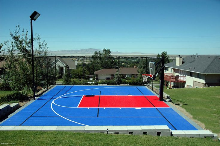 25 Best Outdoor Basketball Court Ideas On Pinterest