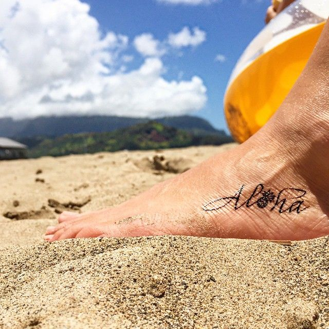 aloha tattoo hawaii - Google Search