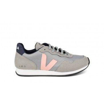 Vegan Sneaker | VEJA SDU B-Mesh Silver Blush | avesu VEGAN SHOES