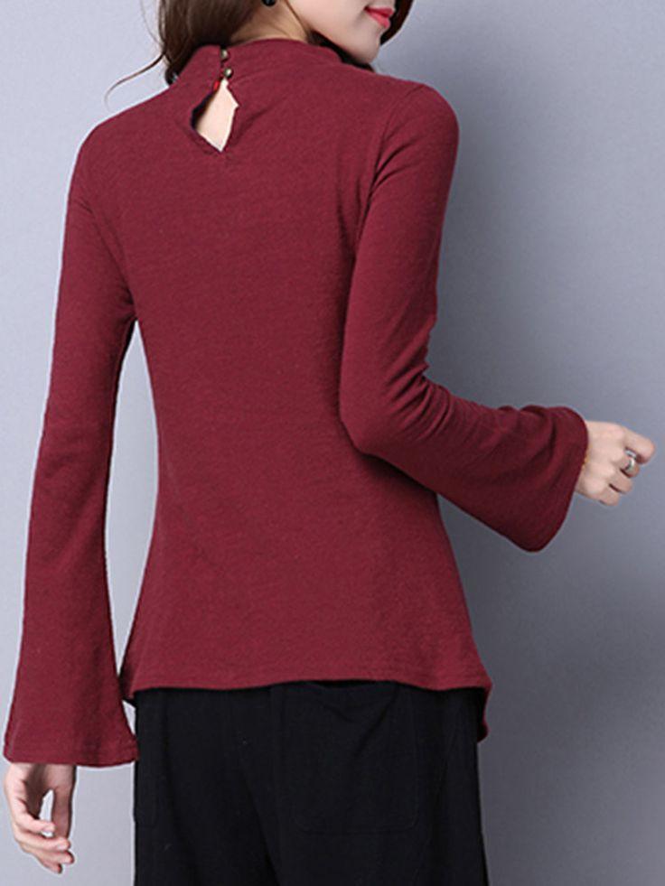 T-shirt à manches longues en coton à manches longues T-shirt manches longues, T-shirt manches longues, T-shirt manches longues, T-shirt manches longues, T-shirt manches longues, T- Longueur de manches: manches longues