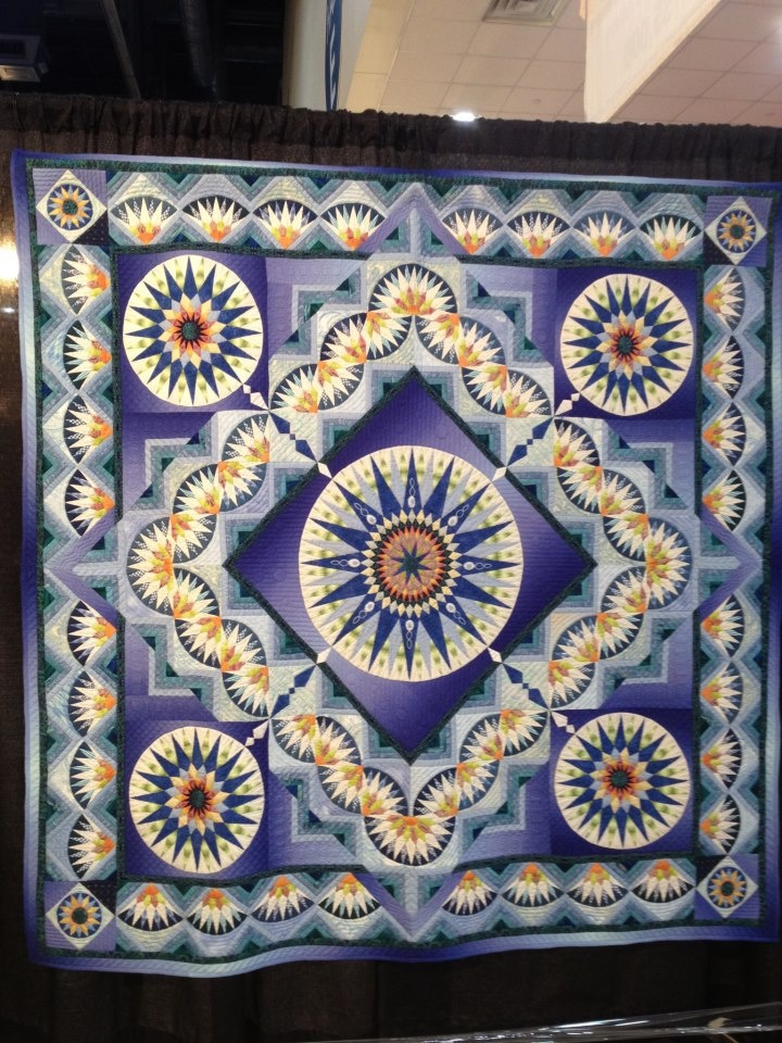 1000+ images about Mariner s Compass QUILTS on Pinterest Quilt designs, Mariners compass and ...