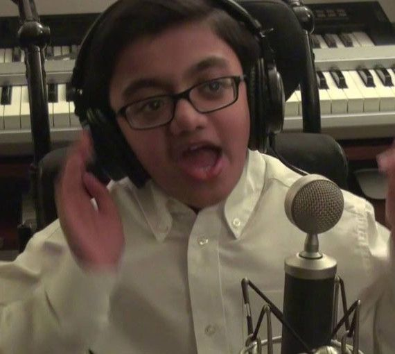 This 12-year-old #SparshShah #sings the best cover of #Eminem's 'Not Afraid' sitting in his #wheelchair.. That Did Not Break His #Spirit.