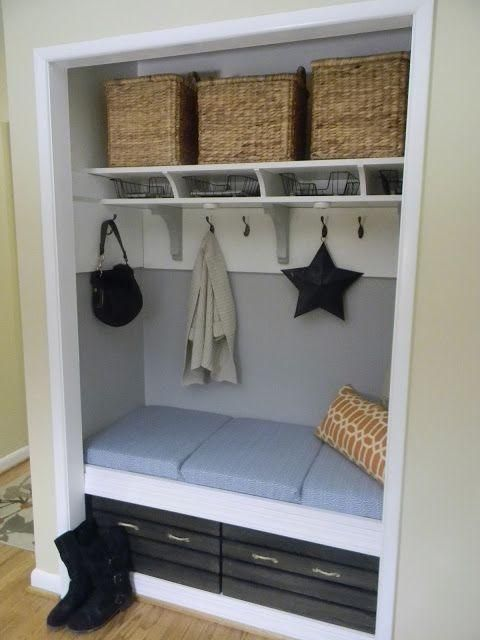 23 Best Coat Closet To Lockers Images On Pinterest
