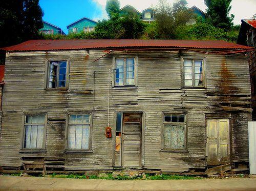 HDR Casa de Chonchi, Chiloe