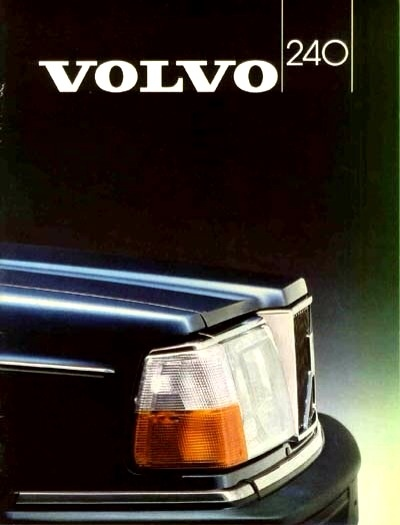 VOLVO 240 in my young days..