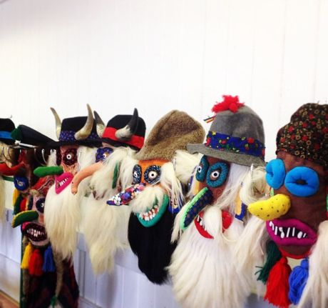 Anorak Magazine - Blog - Vintage Stuff: Romanian Masks