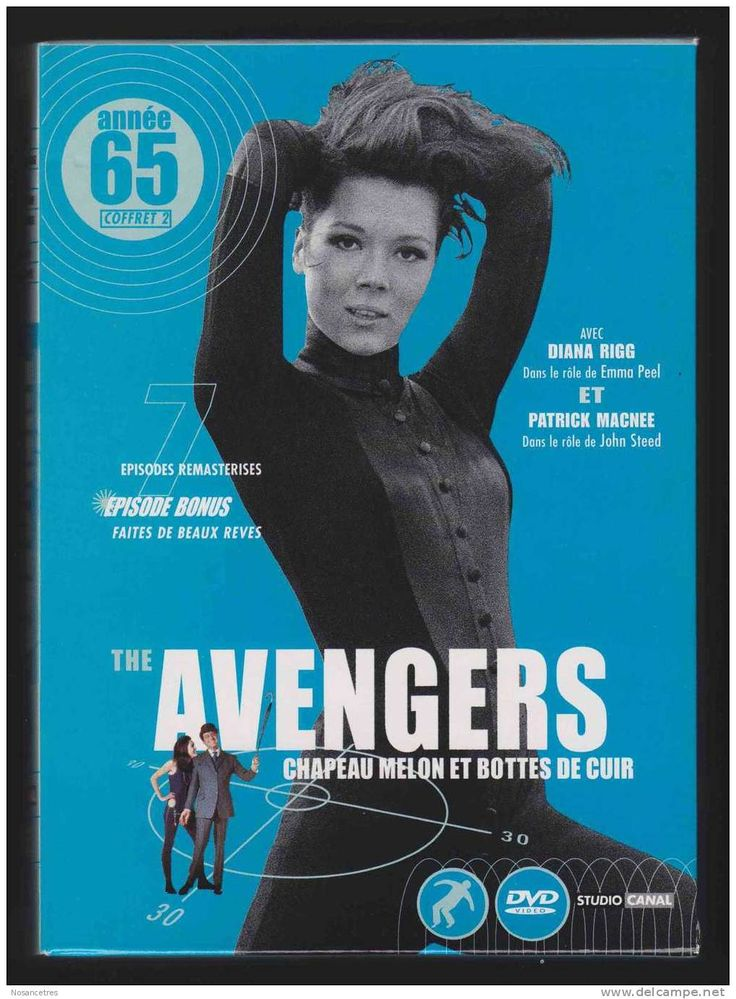 The Avengers 1965... Emma Peel. Before Black Widow and the Scarlet Witch there was kick-butt Emma Peel, an Avenger for British Intel and what a formidable Marvel Avenger she would have made. (And for that time frame, she was so different from most women we saw on TV. No wonder I wanted to grow up to be her).