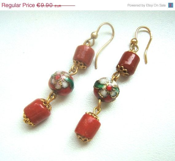 ON SALE Victorian style earrings handmade by LeSirenes on Etsy, €7.92