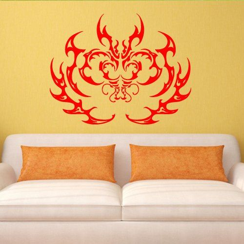Wall Decal Sticker Vinyl Tattoo Curl Pattern Force Bedroom M579. Thank you for visiting our store!!! Please read the whole description about this item and feel free to contact us with any questions! Vinyl wall decals are one of the latest trends in home decor. Vinyl wall decals give the look of a hand-painted quote, saying or image without the cost, time, and permanent paint on your wall. They are easy to apply and can be easily removed without damaging your walls. Vinyl wall decals can…