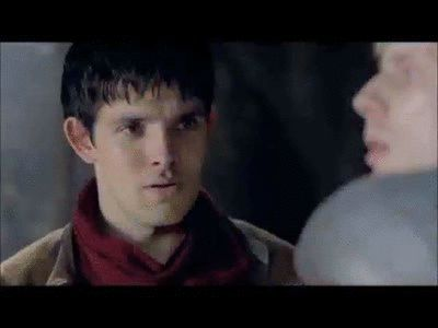 Colin Morgan Blooper. Merlin is my favourite TV show and the cast just make it even better.