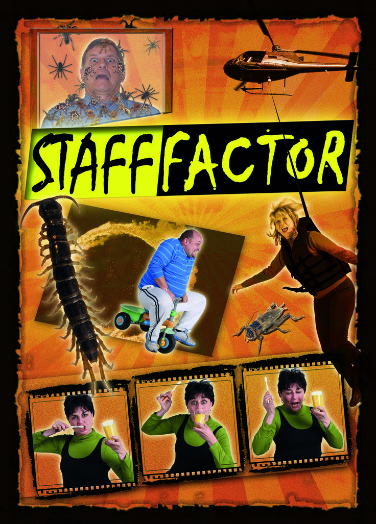 Staff Leader Poster - Reality TV Theme