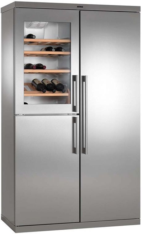 Atag KA2411DW side by side koelkast met wijnkoeler / Atag KA2411DW side by side refrigerator with wine cooler #budgetplan