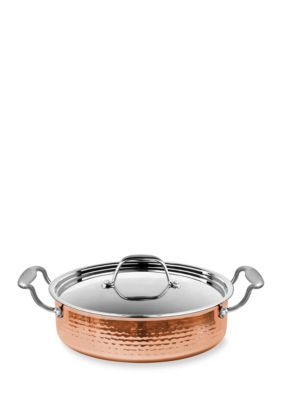 Fleischer And Wolf™  Seville 2.8-Qt. Copper Saute Pan With Cover - Copper - One Size