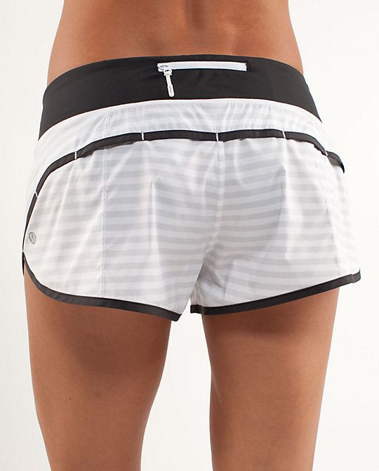 Obsessed with Lululemon work out shorts. I want the entire rainbow in my collection