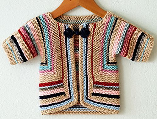 Ravelry: AliciaPaulson's Baby Surprise Jacket