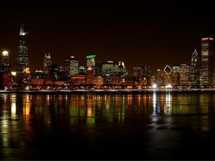 Chicago, This summer it is happening. I miss it so much. : Chicago Skyline, Favorite Places, Chicago Cubs, Cities, Chitown, Chicago Bears, Night, Sweet Home, Chi Town