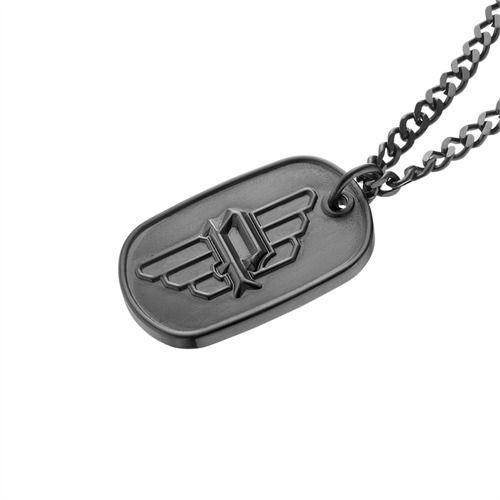 POLICE-Kette und Anhänger aus Edelstahl PJ.25874PSB/03 https://www.thejewellershop.com/ #police #kette #chain #steel #black #schwarz #fashion #men #herrenmode #jewelry #schmuck