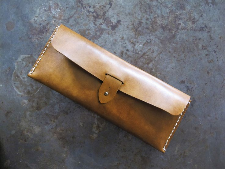 Brown Leather Pencil Case/ Multi Pouch/ Hand-stitched/ Handcrafted (28.00 EUR) by SubconsciousCrafts http://ift.tt/1MUwBCC