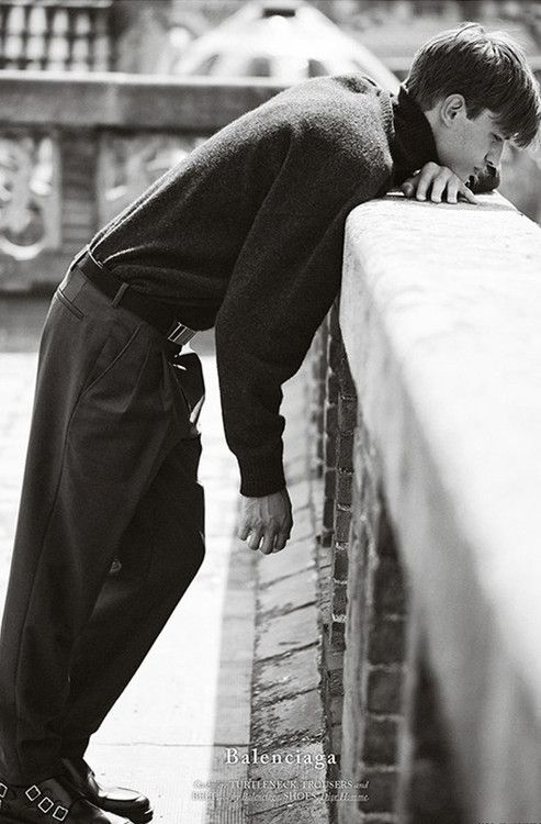 Eddie Klint 'Hopeless Romantic' ph Daniel Riera for Hercules Magazine