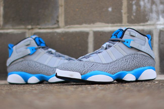 Mens Air Jordan Winterized 6 Rings Leather Brown shoes