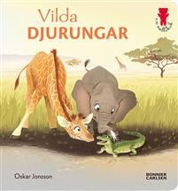 Gulliga vilddjur för de minstaOskar Jonssons charmiga bilder av djuren i det vildaär något alla barn vill njuta av. Det stadiga formatet med hårda blad gör att boken tål att läsas många gånger. Perfekt att ha med i vagnen.Tigrar, elefanter och isbjörnar ... Att lära sig namnen på världens vilda djur är spännande, och kan ge upphov till många roligalekar. I Vilda djurungar kan barnoch vuxna peka på glada djur och läsa tillsammans för att lära sig vad de heter. Illustratören Oskar Jonsson…