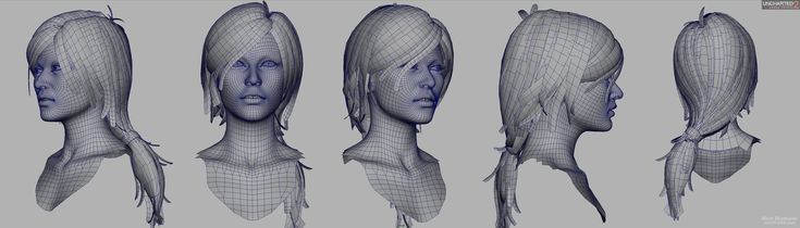 http://wiki.polycount.com/HairTechnique?action=AttachFile=get=hair_uncharted2-chloe-wires.jpg
