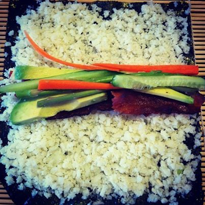 Paleo sushi rolls!