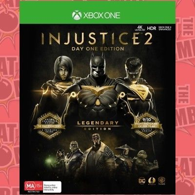 PREORDER - Injustice 2 Legendary Edition - Xbox One game - BRAND NEW: $66.70 End Date: Friday Apr-6-2018 23:30:09 PDT Buy It Now for only:…