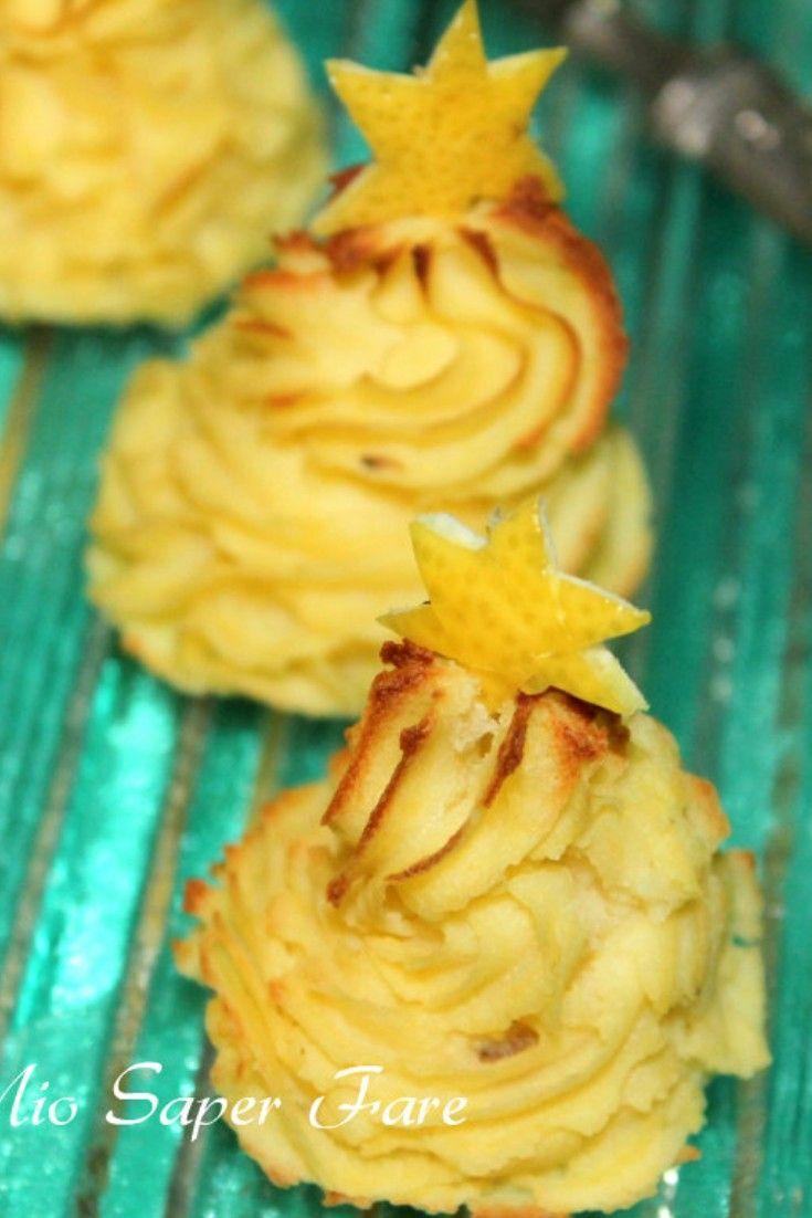 Antipasti Di Natale Con Patate.Patate Duchessa Natalizie Ricette Pasti Italiani Idee Alimentari
