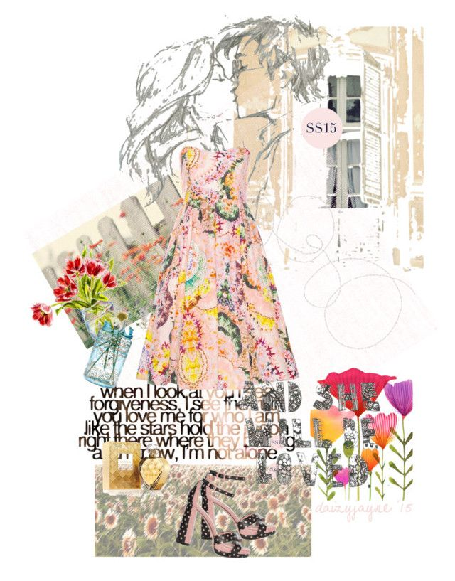spring trend by daizyjayne on Polyvore featuring Elizabeth Arden, Cultural Intrigue, Shabby Chic, contestentry, AlannahHill and aussiefashionistas