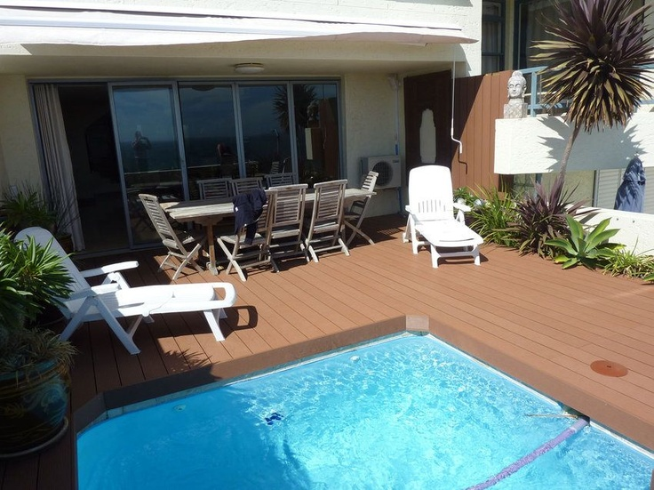Clifton Beach in Cape Town. #Eva-tech Merbau pool side #deck. http://www.eva-tech.com/en/