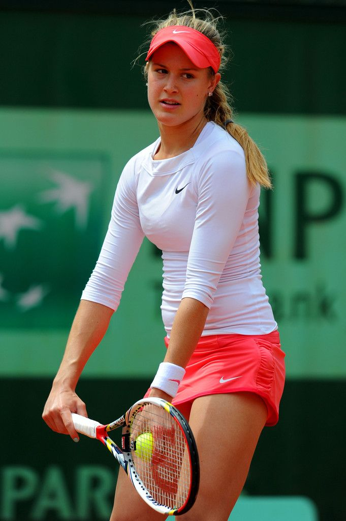 Eugenie Bouchard #concentrated
